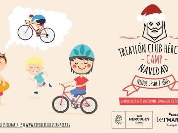 II Campus Infantil de Triatlon Club Hércules Termaria NAVIDAD (Segunda Semana 2 al 5 Enero 2018)