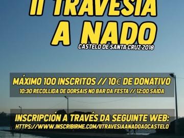 II TRAVESIA A NADO AO CASTELO DE SANTA CRUZ