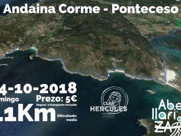 CAMIÑO DOS FAROS - ANDAINA CORME - PONTECESO