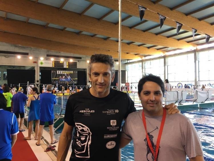 Campeonato Gallego de fondo Natación Máster