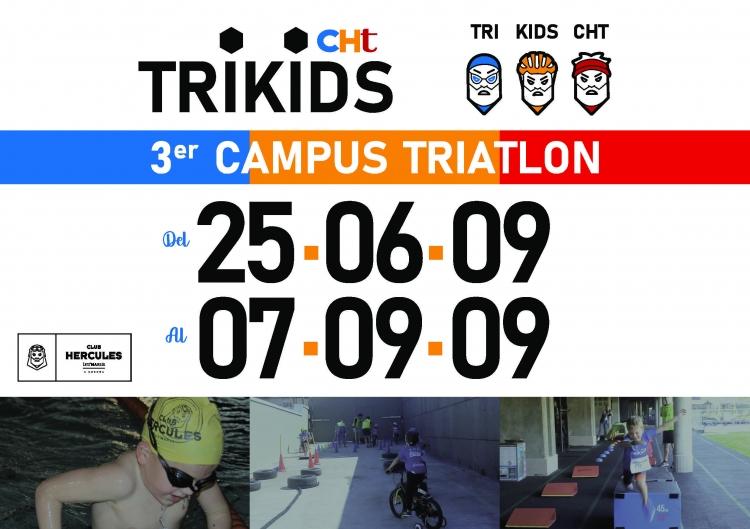 III CAMPUS TRIATLON DE CLUB HÉRCULES TERMARIA TRIKIDS
