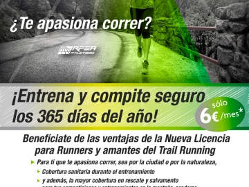 LICENCIAS DE RUNNING Y TRAIL