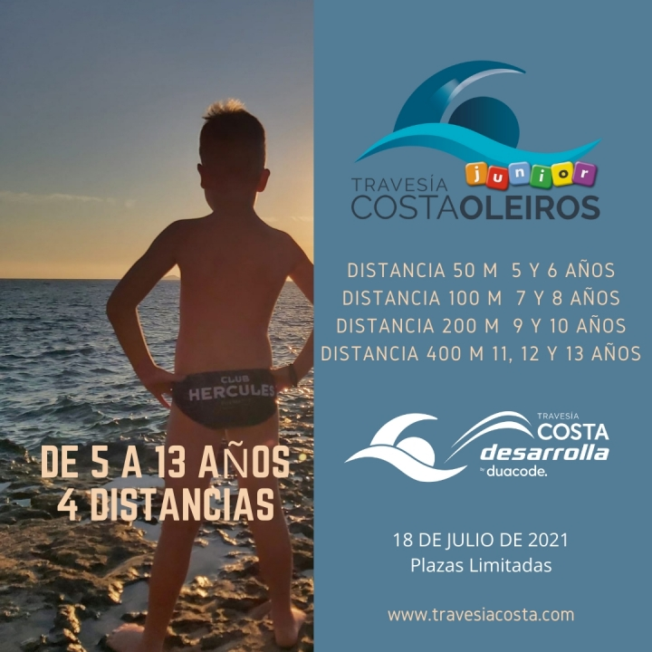 TRAVESIA COSTA OLEIROS JUNIOR 2021