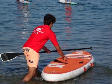 TRAVESIA PADDLE SURF PUNTA CANIDE - ILLA CASTELO -