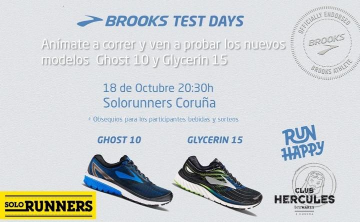 Prueba de Zapatillas de running marca Brooks