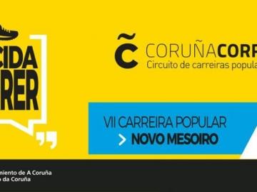 CIRCUITO CORUÑA CORRE VII Carrera Popular Novo Mesoiro